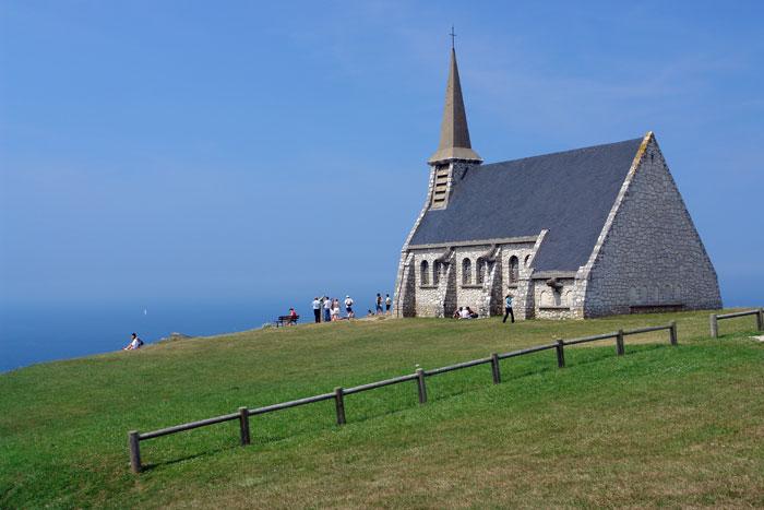 chapel, Étretat