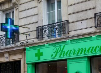 A French pharmacy