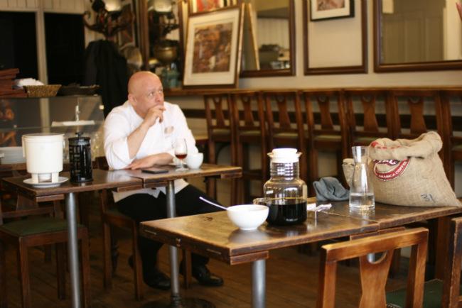 Thierry Marx at La Maison Verlet