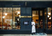Chef Christophe Saintagne at Papillon