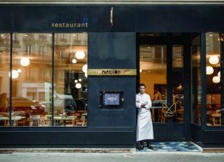 Chef Christophe Saintagne at Papillon