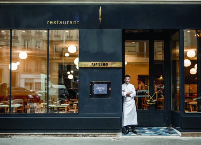 Restaurant Le Papillon Bleu Menu