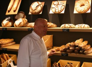 Chef Thierry Marx at his boulangerie