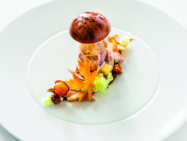 Dining at La Villa René Lalique