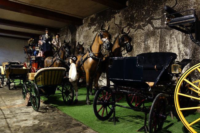 Vaux Le Vicomte Carriage House