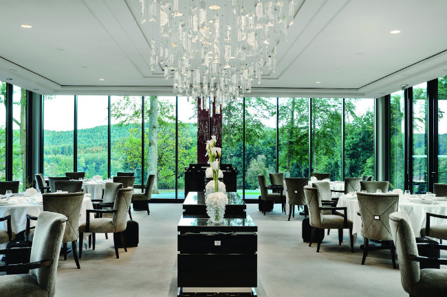 restaurant reviews la villa ren lalique in alsace