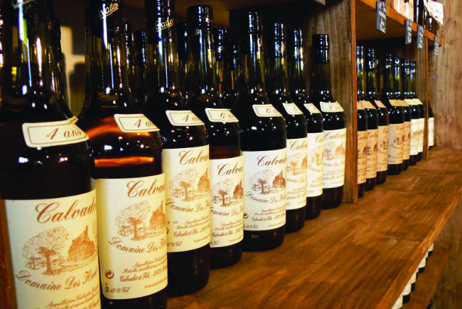 Calvados in Normandy