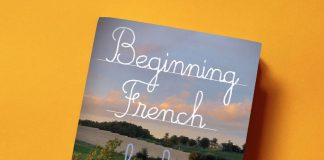 """Beginning French"", book cover"