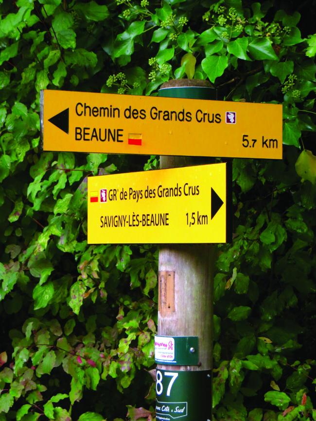 signs in Burgund