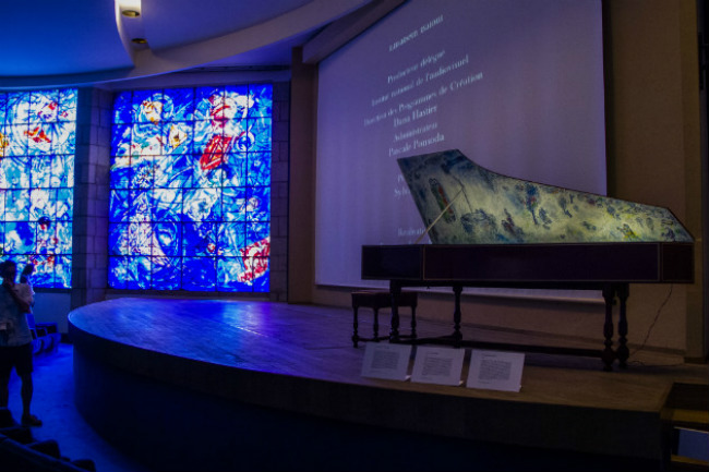 The Concert Hall at the Musée Chagall
