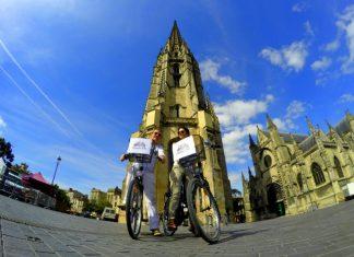 biking in Bordeaux