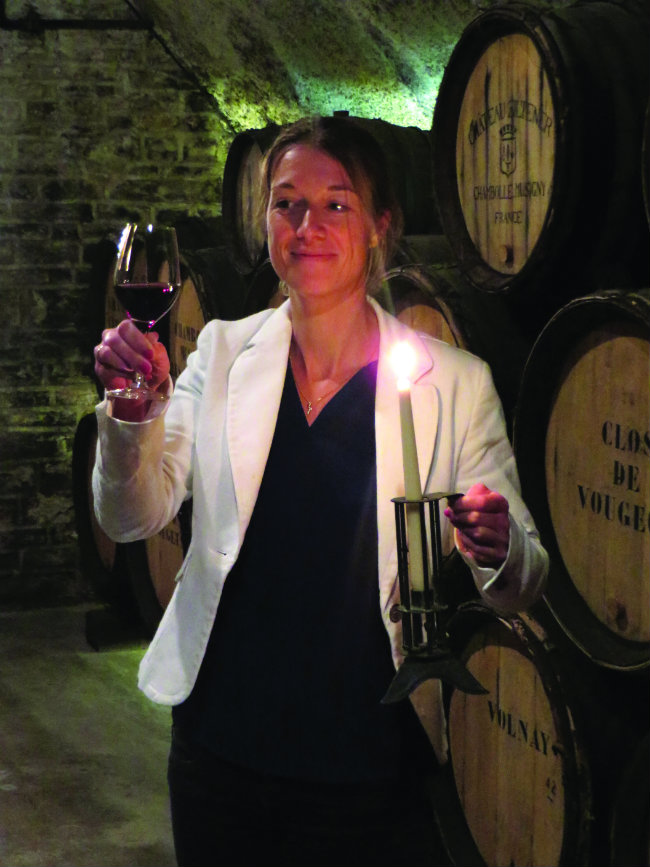 Gabrielle Jung, Head of Oenotourism at Château du Petit Musigny