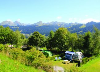 Camping Le Frêne in Les Gets