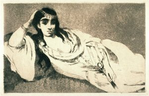 Edouard Manet, Odalisque,