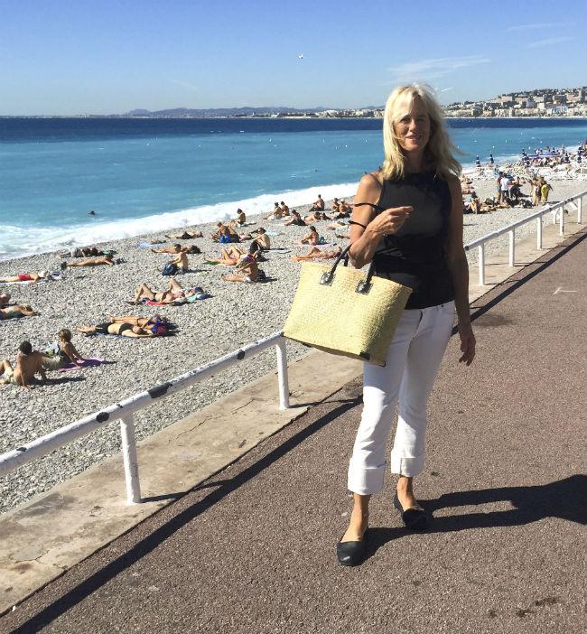 Mary Kay Seals, promenade des Anglais