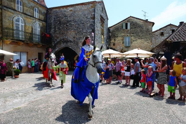 Montpazier medieval festival