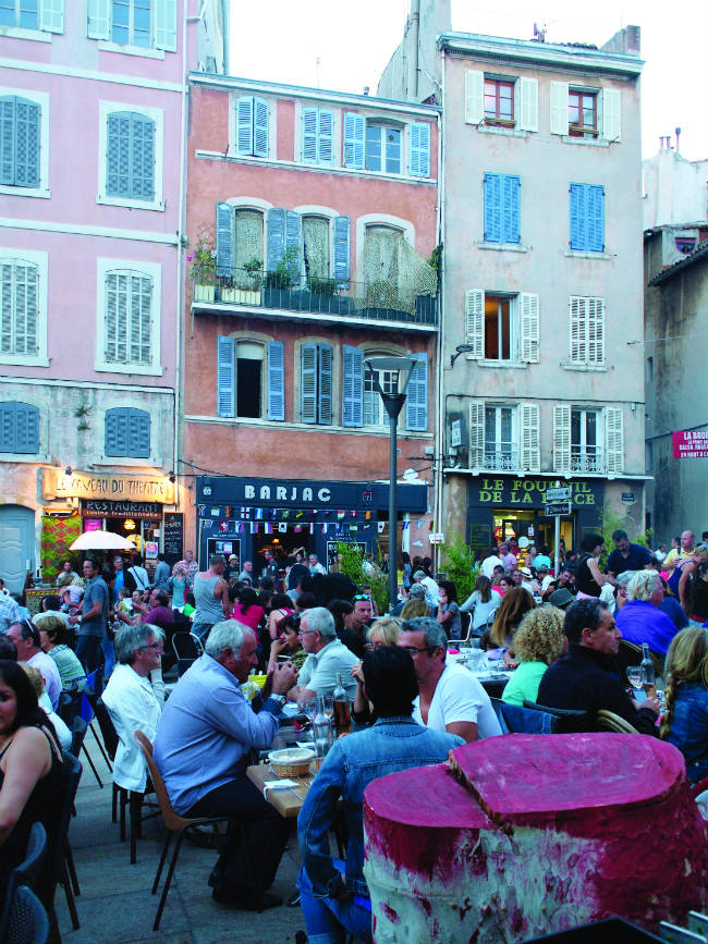 Le Panier neighborhood of Marseille