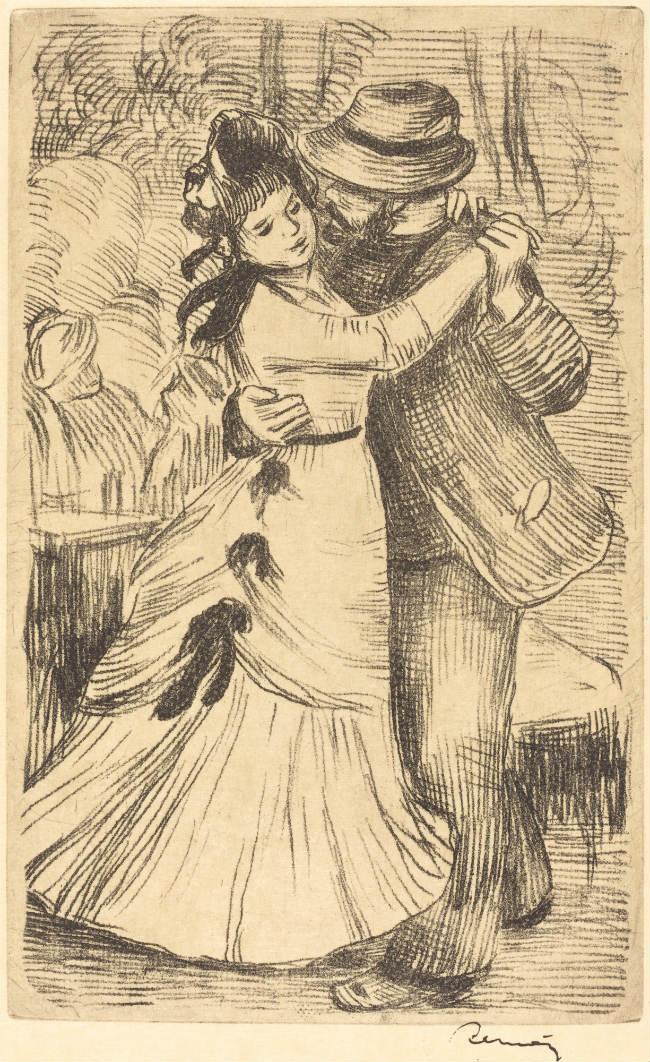 Pierre-Auguste Renoir, Dancing in the Country