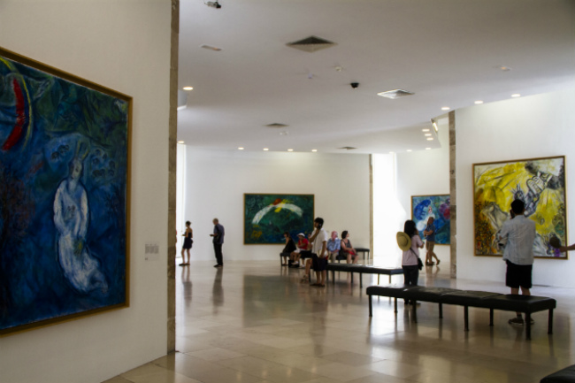 The Main Room, Chagall Museum