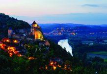 Village of Castelnaud-la-Chapelle in the Dordogne