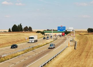 A French Autoroute