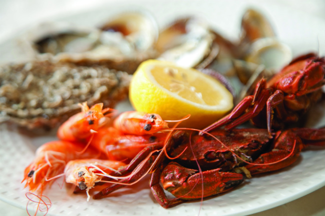 seafood in France