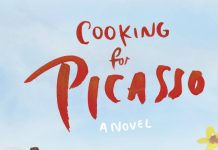 "Official cover of the best-selling novel ""Cooking for Picasso"" by Camille Aubray"