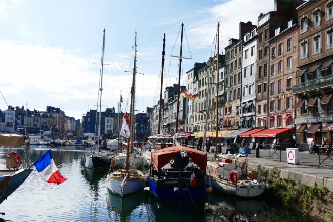 The picturesque port town of Honfleur