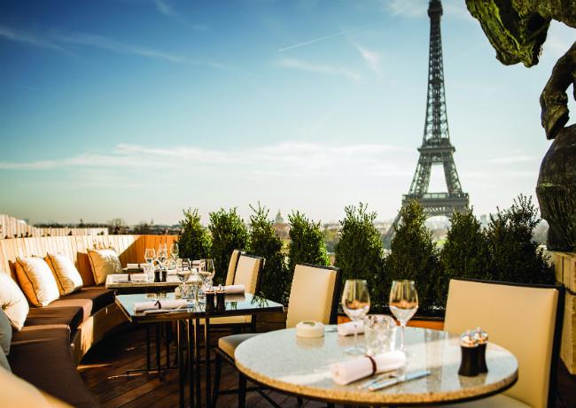 Cafe Du Trocadero Restaurant Paris
