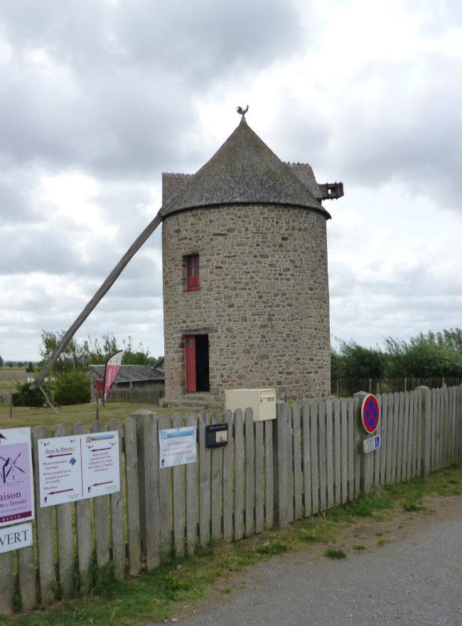 Windmill in Cherrueix