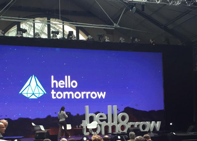 Hello Tomorrow summit in Paris