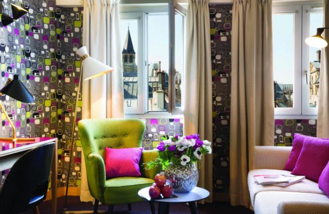 Exclusive suite at the Hotel Artus in Saint Germain