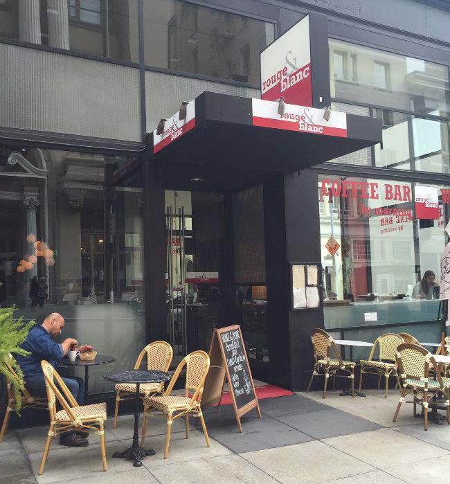 The Rouge & Blanc café