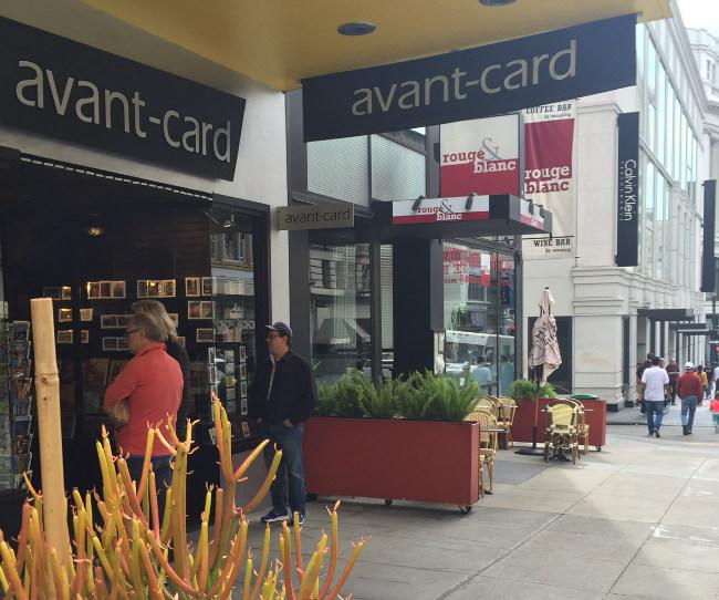 Avant-Card in San Francisco