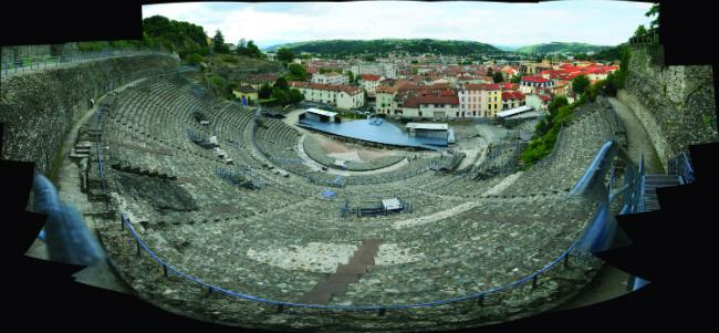 Vienne Roman amphithéâtre