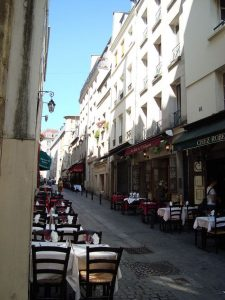 Rue du Pot-de-Fer in Paris courtesy of LPLT & Creative Commons