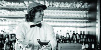 Bartender Marjolaine Arpin at Champeaux