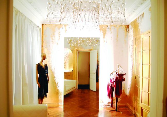 Carine Gilson boutique in Paris