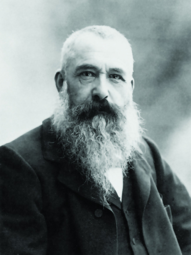Portrait of Claude Monet