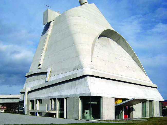 Firminy Vert, one of Le Corbusier's biggest projects