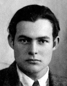 Ernest Hemingway's 1923 passport photo courtesy of © Creative Commons