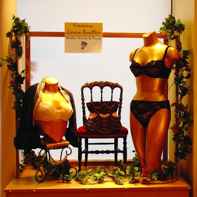 Feuillère lingerie store in Paris