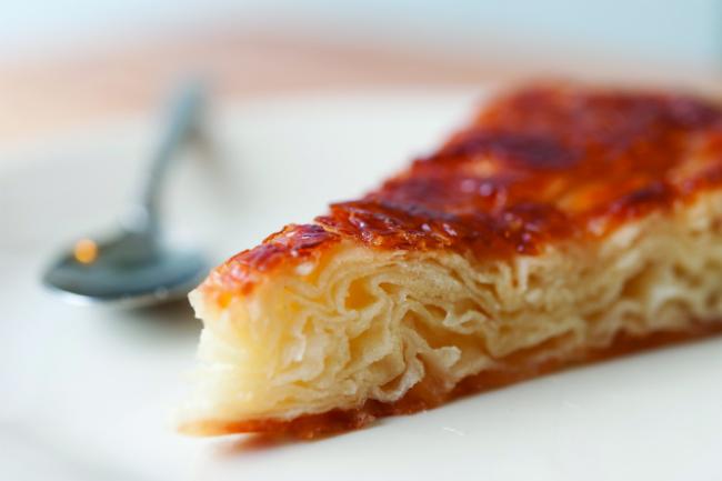 Delicious local Kouign Amann pastry