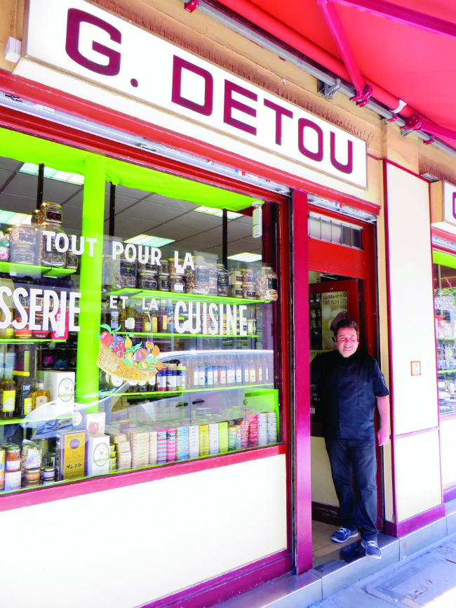 G. Detou, the pastry supply shop