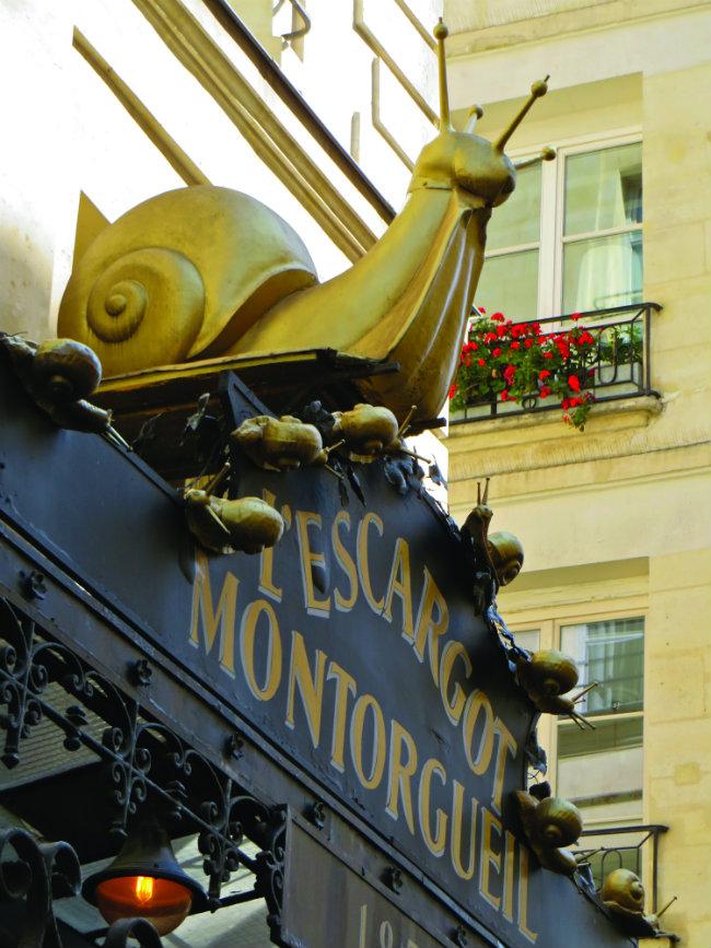 L'Escargot Montorgueil.