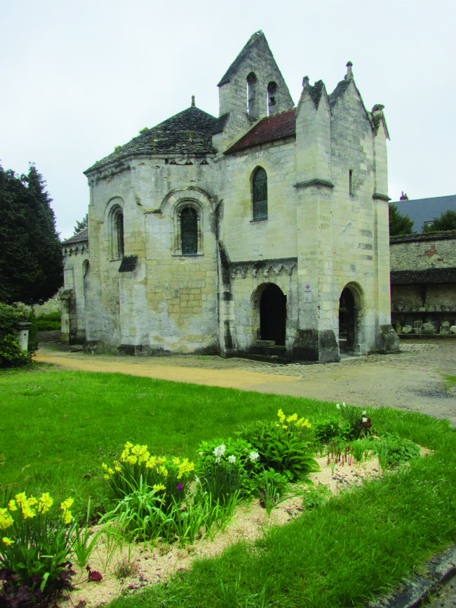 The Templar chapel in Laon