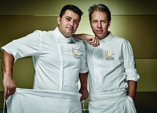Steve Moracchini et Yoric Tièche at La Passagère