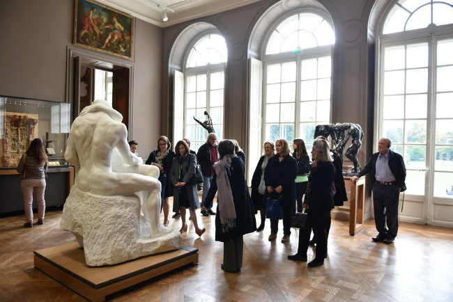Inside the Rodin Museum