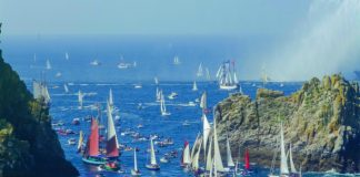Sailing regattas in Brittany