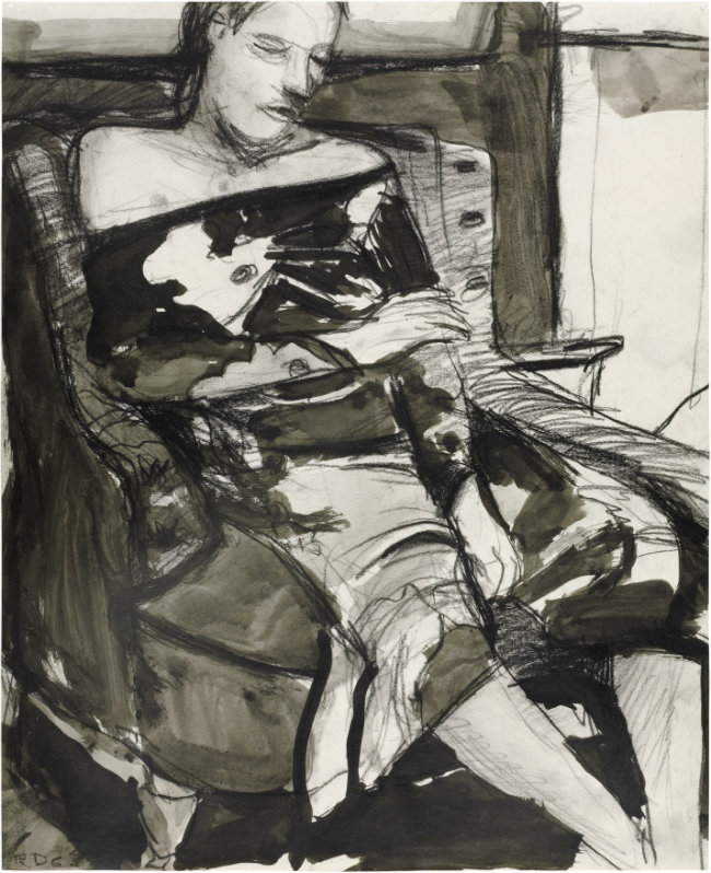 Richard Diebenkorn. Woman Seated in a Chair. 1963